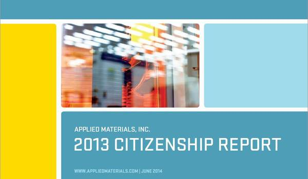 Applied Materials Citizenship Report