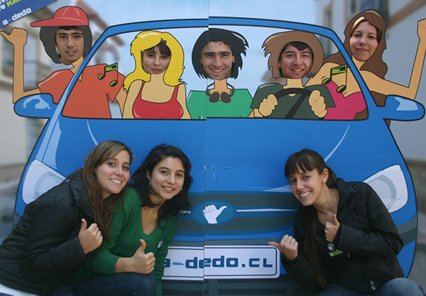 A-Dedo created a mobile app for carpool management in Latin American cities.