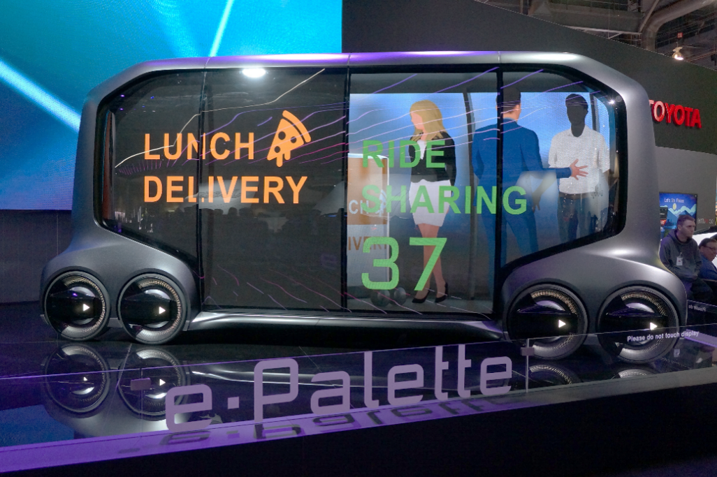 Toyota's e-Palette Concept Vehicle