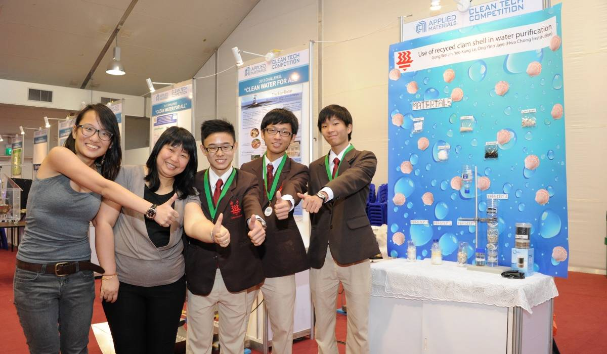 Singapore's Young Innovators Address Real World Problems