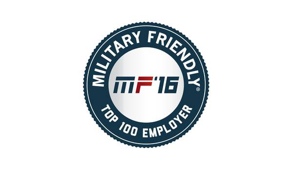 Applied Materials Named 2016 Top 100 Military Friendly Employer