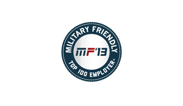Applied Named a Top Military Friendly Employer