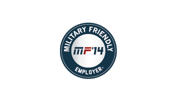 Applied Named 2014 Military Friendly Employer