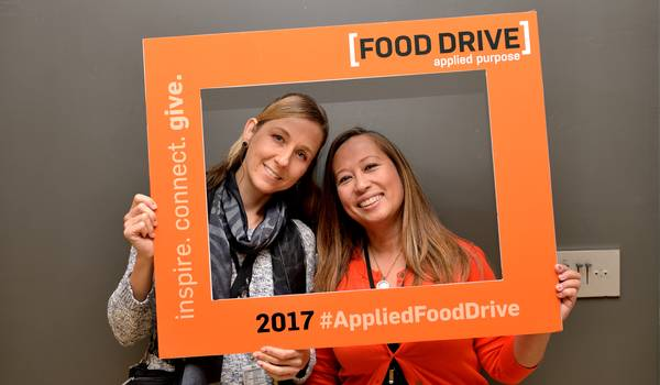 Applied Materials Food Drive