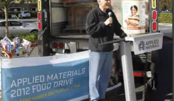 Applied Materials Feeds Families in Need