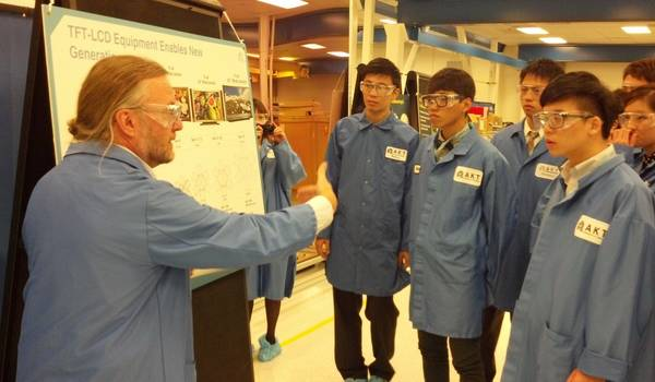 Applied Materials Hosts Taiwan's Top University Students