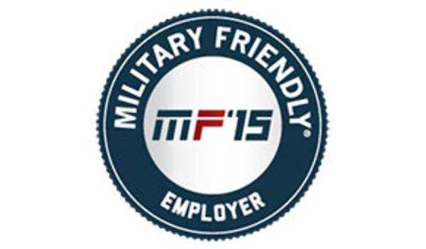 Applied Named 2015 Military Friendly Employer