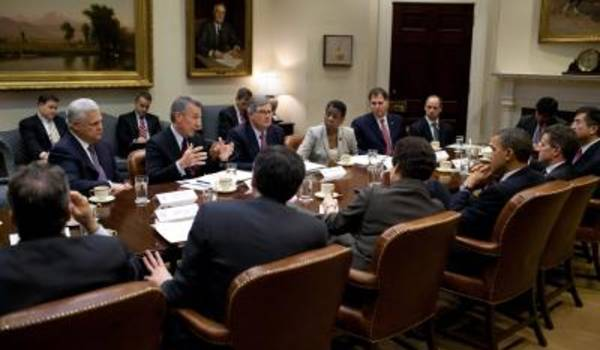 Mike Splinter and the Tech CEO Council Meeting with President Obama