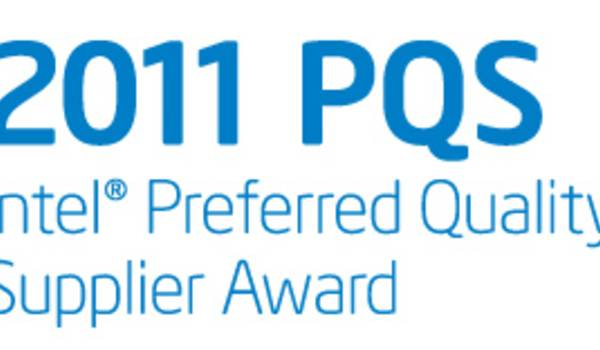 Applied Materials Receives Intel's Preferred Quality Supplier Award