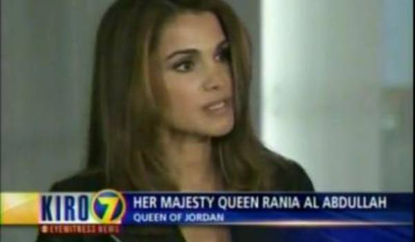 Queen Rania of Jordan Named as 2010 James C. Morgan Global Humanitarian Award Honoree