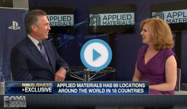 Applied Materials' Mike Splinter Discusses Latest Mobility Trends on FOX Business